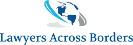 Lawyers across borders logo | Lawyers acroess borders
